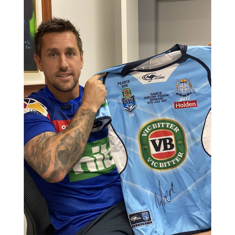 mainMitchell Pearce | 2017 NSW Origin Game 3 Jersey Signed by Pearce0