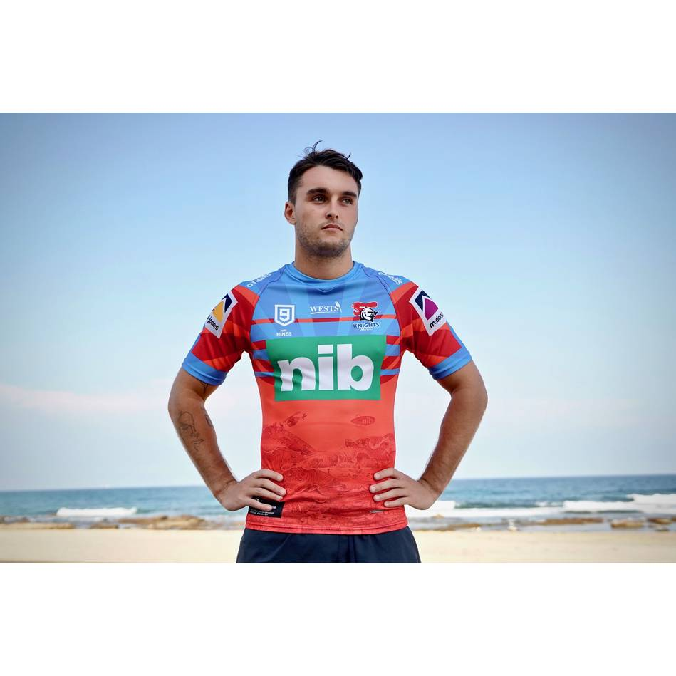 mainNewcastle Knights 2020 O'Neills Youth Nines Jersey1