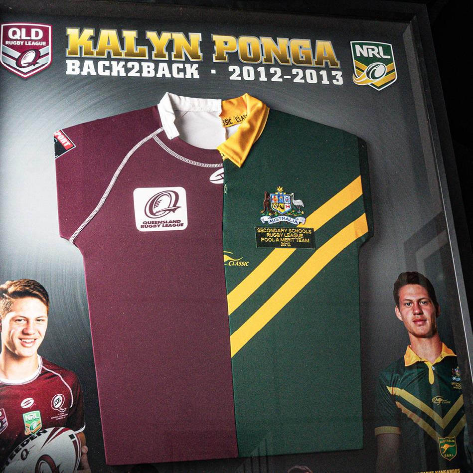 mainKalyn Ponga, Australian/Queensland Schoolboy Jerseys.1