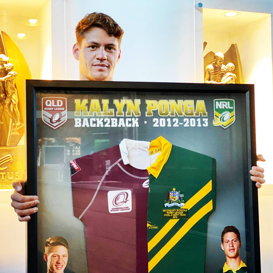 mainKalyn Ponga, Australian/Queensland Schoolboy Jerseys.0