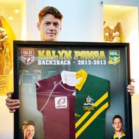 Kalyn Ponga, Australian/Queensland Schoolboy Jerseys.0