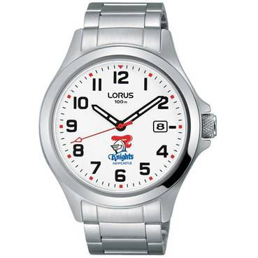 Lorus White Face Watch