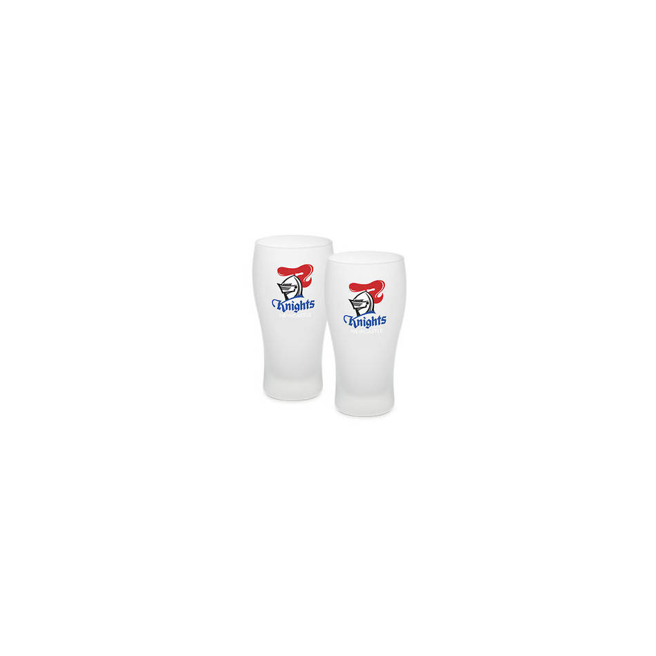 mainKnights Frosted Schooner Glasses Set of 20
