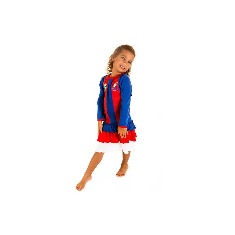 mainGirls Footy Dress0