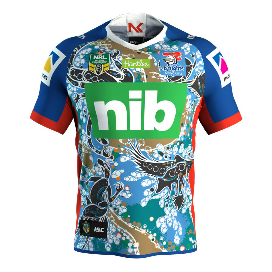 main2018 Indigenous Jersey - #12 Mitch Barnett0