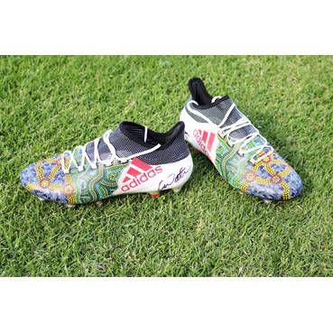 Connor Watson's Indigenous Playing Boots