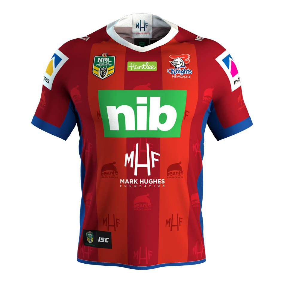 mainMHF Beanie For Brain Cancer Jersey - #5 Shaun Kenny-Dowall0