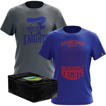 Knights Twin Tees in a Tin Pack