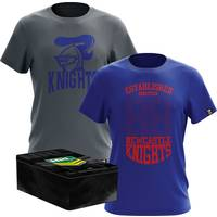 Knights Twin Tees in a Tin Pack0