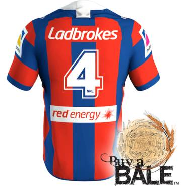 Buy A Bale | Player Worn and Signed Jersey #4 Cory Denniss