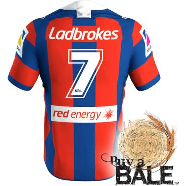 Buy A Bale | Player Worn and Signed Jersey #7 Mitchell Pearce (C)