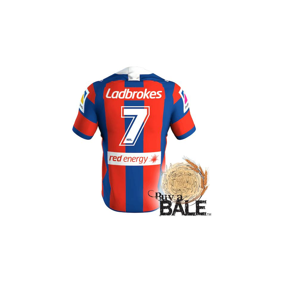 mainBuy A Bale | Player Worn and Signed Jersey #7 Mitchell Pearce (C)0
