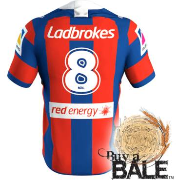 Buy A Bale | Player Worn and Signed Jersey #8 Herman Ese'ese