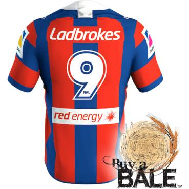Buy A Bale | Player Worn and Signed Jersey #9 Danny Levi