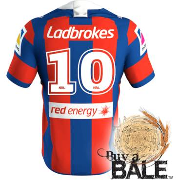 Buy A Bale | Player Worn and Signed Jersey #10 Daniel Saifiti