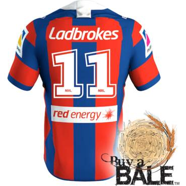 Buy A Bale | Player Worn and Signed Jersey #11 Jamie Buhrer (C)