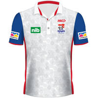 2019 Ladies White Team Polo0