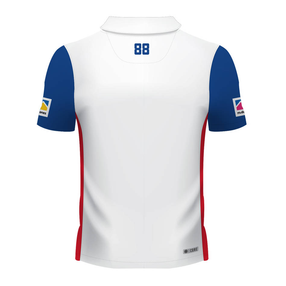 main2019 Ladies White Team Polo1