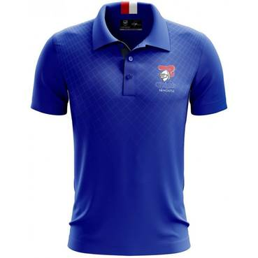 Mens Knitted Polo