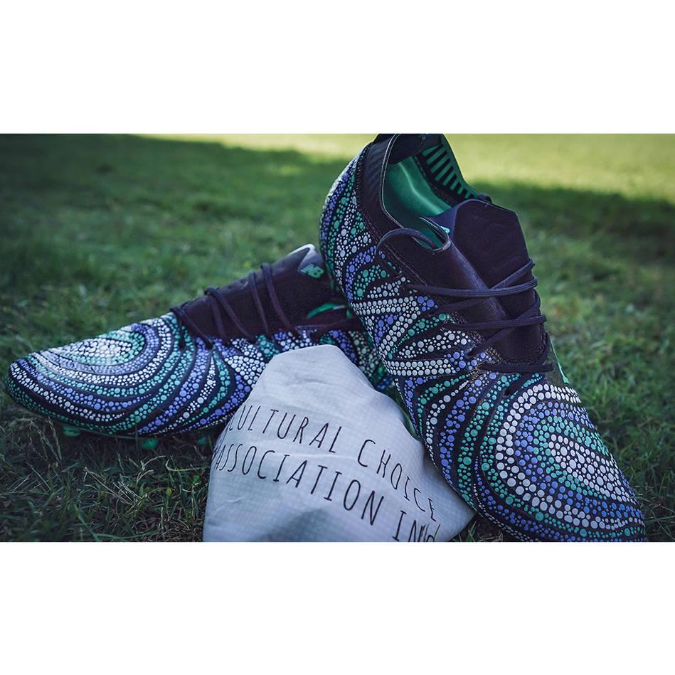 mainKURT MANN | Match Worn & Signed Indigenous Boots0