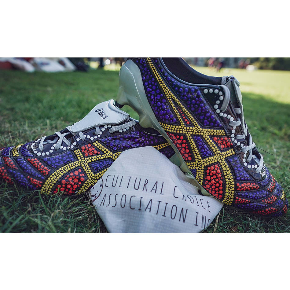 mainTIM GLASBY | Match Worn & Signed Indigenous Boots0