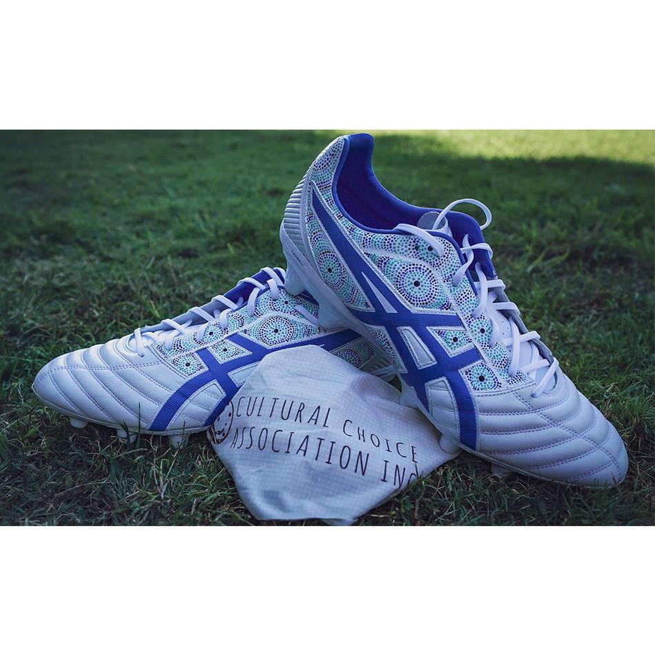 mainDAVID KLEMMER | Match Worn & Signed Indigenous Boots0