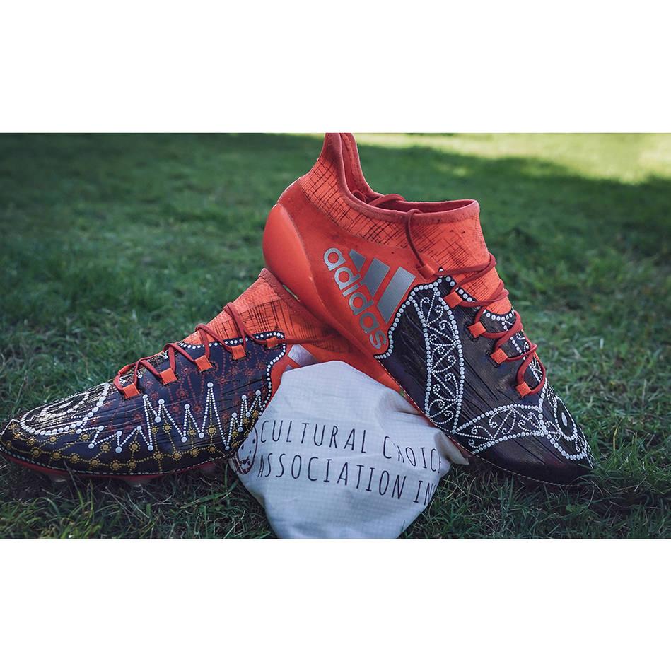 mainSHAUN KENNY-DOWALL | Match Worn & Signed Indigenous Boots0